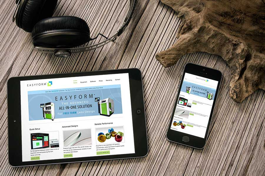 EasyForm Equipment Responsive Website