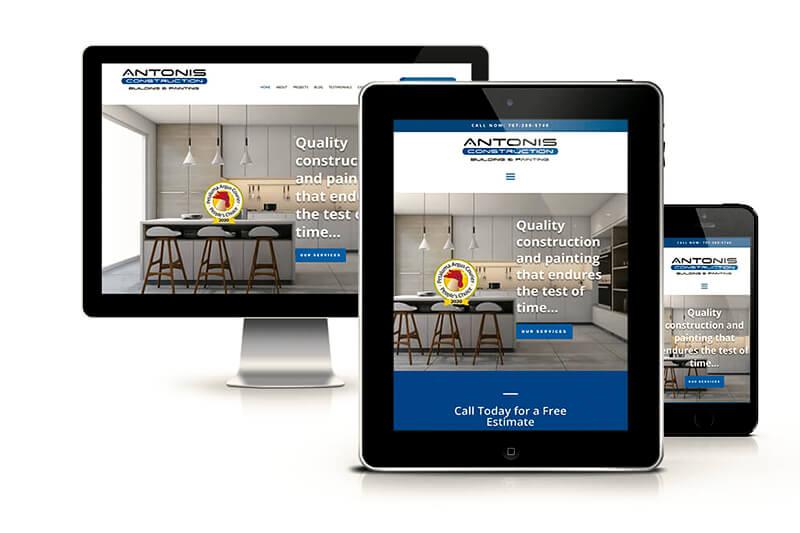 Responsive Screen Website Design
